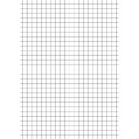 A4 Education 5mm Squares Exercise Paper, Pack of 2500 - NU922005
