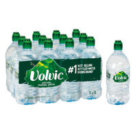 Volvic 1 Litre Natural Mineral Water Bottles, Pack of 12 - 144900