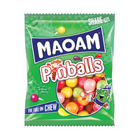 View more details about Haribo Maoam 140g Pinballs Bags, Pack of 12 - 540730