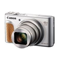 View more details about Canon Powershot SX740 HS Silver Camera | 2956C011AA