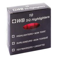 Pink Hi-Glo Highlighter Pens, Pack of 10 - HI2717 819128