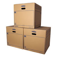 Bankers Box SmoothMove 446 x 446 x 446mm Moving Box, Pack of 10 - 6207401