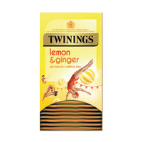 View more details about Twinings Lemon & Ginger Fruit Infusion Tea Bags (Pack of 20) F09613