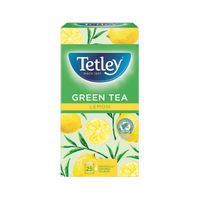 View more details about Tetley Green Tea With Lemon Tea Bags, Pack of 25 - NWT204