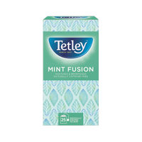 View more details about Tetley Mint Infusion Tea Bags, Pack of 25 - NWT201