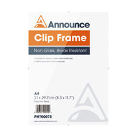 View more details about Announce A4 Clip Frame - CF2130NG