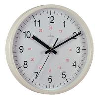 Acctim Metro 24 Hour White 14 Inch Wall Clock - 21202
