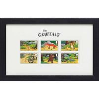 The Gruffalo Framed Stamp Set