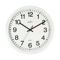 View more details about Acctim Controller Silent Sweep Wall Clock 368mm White 93/704