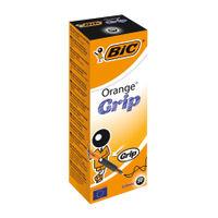 View more details about Bic Orange Cristal Grip Ballpoint Pen Black (Pack of 20) 811925