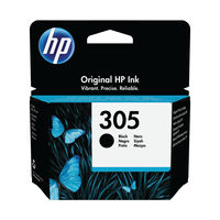HP 305 Original Ink Cartridge Black 3YM61AE