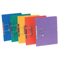 View more details about Europa Assorted Colours A4/Foolscap Spiral Files - Pack of 25 - 3000