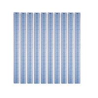 View more details about Helix Shatter Resistant Ruler Gridded 45cm Blue (Pack of 10) L28040
