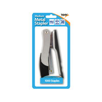 View more details about Tiger Medium Half Strip Stapler with Staples, Pack of 6 - 301510301508