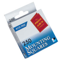 View more details about Photo Album Company Mounting Squares, Pack of 250 - MS250