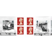 1st Class Stamps x 6 Pack - (Postage Stamp Book) - D-Day