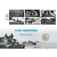 The D-Day 75th Anniversary Coin Cover