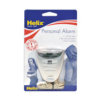 View more details about Helix Personal Attack Alarm With Torch Silver PS2070