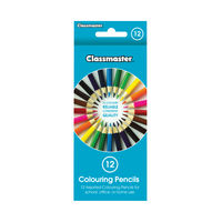 View more details about Classmaster Assorted Colouring Pencils, Pack of 12 - CPW12