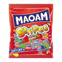 Haribo Maoam 140g Stripes Bags, Pack of 12 - 580730