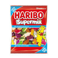 View more details about Haribo 140g Supermix Bags, Pack of 12 - 727730