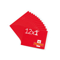 1st Class Stamps x 600 (50 Postage Stamp Booklets of 12) - SB12F RED