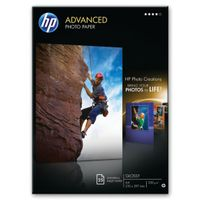 HP Advanced White A4 Glossy Photo Paper, 250gsm - 25 Sheets - Q5456A
