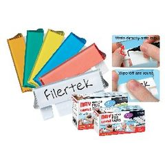 View more details about Cathedral Assorted Dry Erase Suspension File Tabs (Pack of 50) FPCLIPDRY50ASS