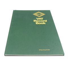 View more details about Simplex Hardback VAT Records Book VAT