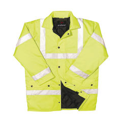View more details about Constructor Saturn XXL Yellow High Visibility Jacket - CTJENGSYXXL