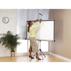 View more details about Nobo 1750 x 1325mm Tripod Projection Screen - 1902396