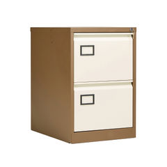 View more details about Jemini 711mm Coffee/Cream 2 Drawer Filing Cabinet