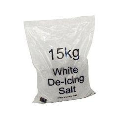 View more details about White 15kg Bag De-Icing Salt, Pack of 10 - 383498