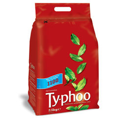 View more details about Typhoo One Cup Tea Bags, Pack of 1100 -  A00786