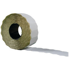 View more details about Avery Permanent White Price Label, Single-Line Roll of 1500, Pack of 10 - WP1226