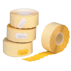 View more details about Avery Dennison Single-Line Price Marking Label Yellow 12x26mm (Pack of 15000) YR1226