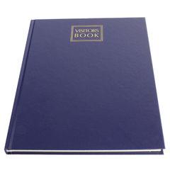View more details about Collins Leathergrain Visitors Book 192 Pages 40