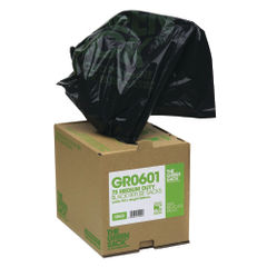 View more details about The Green Sack Compactor Sack in Dispenser Black (Pack of 40) VHP GR0602
