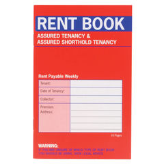 View more details about Country Assured Tenancy Rent Book (Pack of 20) C237