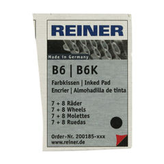 View more details about COLOP Reiner B6/8K Replacement Ink Pad Black (Pack of 2) RB8KINK