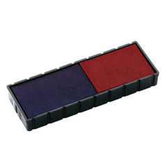 View more details about COLOP E/12/2 Replacement Ink Pad Blue/Red (Pack of 2) E/12/2