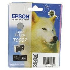 View more details about Epson T0967 Light Black Inkjet Cartridge C13T09674010 / T0967