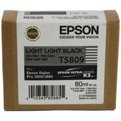 View more details about Epson T580900 Light Light Black Ink Cartridge C13T580900 / T5809
