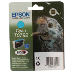 View more details about Epson T0792 Cyan Ink Cartridge - C13T07924010