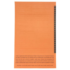 View more details about Esselte Orgarex Lateral Insert White With Orange Tip (Pack of 250) 326900