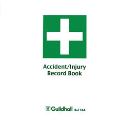 View more details about Guildhall Accident and Injury Book Compliant with DPA (Pack of 5) T44