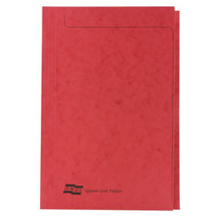 View more details about Europa Square Cut Folder 300 micron Foolscap Red (Pack of 50) 4828