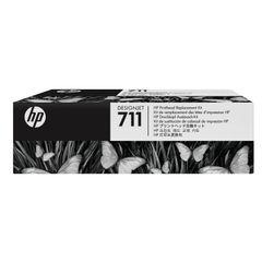 View more details about HP 711 Black /Cyan/Magenta/Yellow DesignJet Printhead Replacement Kit C1Q10A