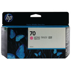 View more details about HP 70 Light Magenta Ink Cartridge - C9455A