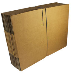 View more details about Single Wall 330x254x178mm Corrugated Cardboard Boxes, Pack of 25 - SC-13